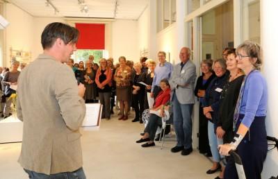 Martijn Adelmund opent de expositie