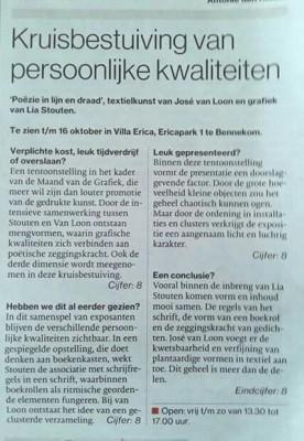 recensie in De Gelderlander